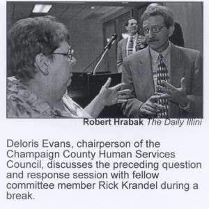 2001 Legislative Forum Rick and Dolores